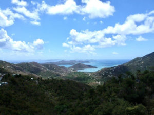 View of Ocean from Mamey Peak St John
