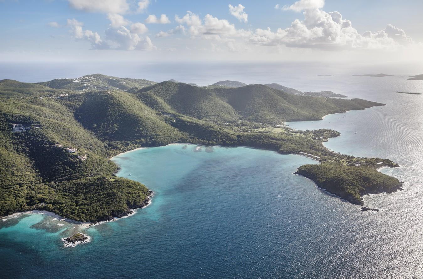 Photo of St. John Virgin Islands Landscape